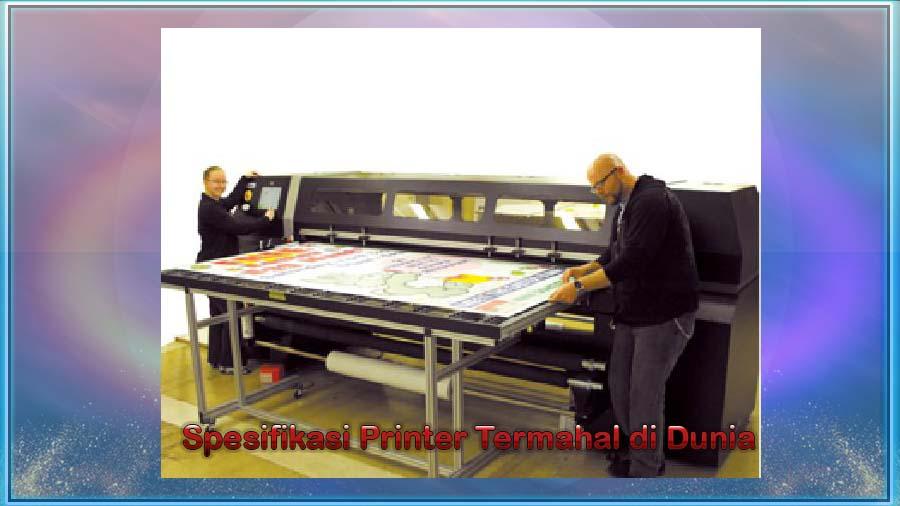Spesifikasi Printer Termahal di Dunia
