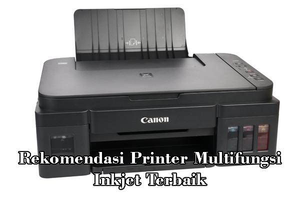 Rekomendasi Printer Multifungsi Inkjet Terbaik