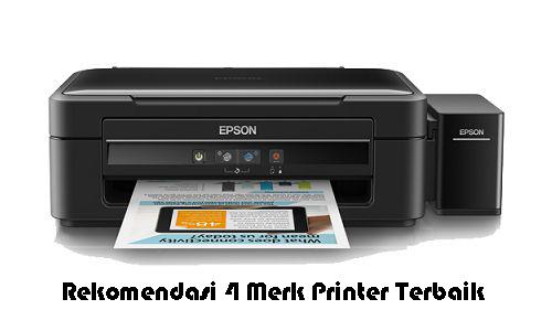 Rekomendasi 4 Merk Printer Terbaik