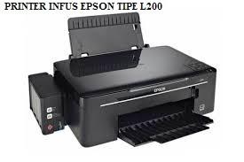 Printer Infus Epson tipe L200